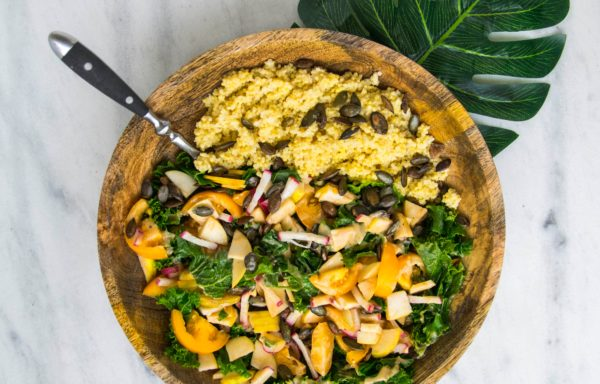 Gemüse-Couscous mit Moringa
